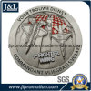 Antique Silver 3D Metal Coin No MOQ