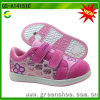 Wholesale Girl′s Double Buckle Casual Skate Shoes