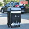 Bw1-024 Profession Custom PU Leather Luggage Bag Trolley Bag