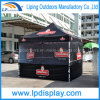 10X10 Half Walls Hexagonal Steel Pop up Canopy Tent