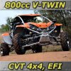 New Cvt 4x4 - 800CC Cvt 4WD UTV / Buggy With V-Twin Engine (LION 800I)