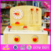 2016 Wholesale Baby Wooden Kitchen Playsets, Fashion Kids Wooden Kitchen Playsets, Children Wooden Kitchen Playsets W10c202