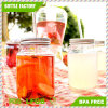 Single Wall Tumbler Mason Jar with Straw and Handle
