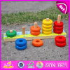 2015 Colorful Wooden Math Block Toy for Kids, Educational Wooden Toy Block for Children, Hot Sale Wooden Stack Block Toy W13D073