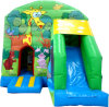 Kids Bouncy Animal Forest Slide Playhouse for Sale (B1063)