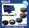 CE Approved 433.92MHz Wireless Caller System for Restaurant Hotels