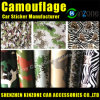 Camouflage Car Film with Air Drain