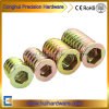Iron Internal and External Tooth Furniture Nuts