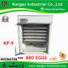 Fully Automatic Digital Quail Egg Incubator Hatchery Machine 880 Eggs