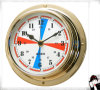 Radio Room Clock 12 Hour Arabic Numberal Dial 180mm