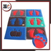 Double Color PVC Coil Mat with Foam Backing