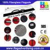 MOQ 1PC Digital Printing Feather Flag Pole and Base