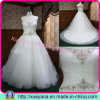 Strapless A-Line Wedding Dress for Beautiful Bridal