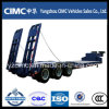 Cimc 3 Axle Low Bed Trailer, Low Bed Semi Trailer, Low Bed Truck Trailer
