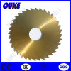 Tin Coated HSS Cold Saw Blade for Cutting Fabric