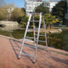 Aluminum Alloy 6-Rung Household Folding Ladder