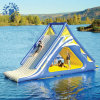 Inflatable Water Slide with Trampline (PLWG10-015)