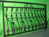 High Picket Top Wrought Iron Fences