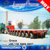 China Heavy Equipment Transport Goldhofer Hydraulic Lifting Modular Trailer on Sale