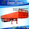 50tons Heavy Cargo Transport Flatbed Side Wall Semi Trailer (LAT9401E)
