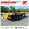 3 Axles 40FT Container Flatbed Semi Trailer for Philippines