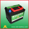 Korea Quality Battery DIN55 12V55ah Auto Battery for Starting