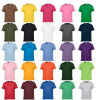 Wholesale Custom Cotton T Shirts in Various Colors, Sizes, Materials and Logos