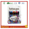 Safe Tattoo Gel Ink Pen for Body Face Paint