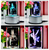 Engraving Machine 3D Photo in Cube