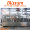 Carbonated Soda Water 3-in-1 Filling Bottling Packaging Line Machinery