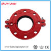 Ductile Iron Grooved Flange Adaptor with FM/UL Approved