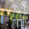 Barbershop/Beauty Salon Indoor Decoration Artificial Plants Wall (SJ)