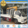 Jmc 6 Wheels Telescopic 2 T Crane Loading Truck Mounted with Crane