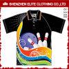 Promotional Sublimation Print Sports Short Sleeve Golf Shirt Polyester (ELTMPJ-306)