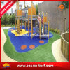 Different Colors Artificial Grass for Playground