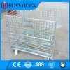 Warehouse Welded Stackable Wire Mesh Container From China Supplier