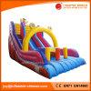 Giant Rainbow Double Lane Inflatable Slide for Amusement Park (T4-222)