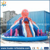 PVC Fabric Inflatable Combo with Water Slide, Inflatable Water Slide