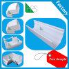 Kenya and Nigeria Hot Sale Rain Square Gutter PVC Rainwater Gutter