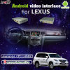 Car Android Interface Navigation with Rear Camera Reversing for Lexus