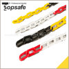 Plastic Warning Chain Yellow/Black and Red/Black