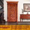 Classic Main Entrance Wooden Door Design (GSP2-071)