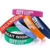 Personalized Custom ID Gym Sport Silicone Bracelet No Minimum