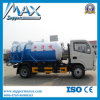 HOWO Suction Sewage Truck 118 Power 6t Loading