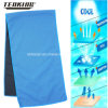 Hotsale Polyester Fabric Blue Sports Cooling Towel