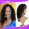 100% Human Virgin Middle Hair Length Front Lace Wig