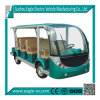 Electric Zoo Shuttle Bus, 11 Seats, Eg6118kb, CE Approved
