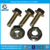Made in China High Quality Zinc-Plated Flange Bolts Gr5