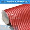 Popular Shiny 2d Carbon Fiber Car Film PVC Material