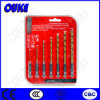 7PCS Tin Coated HSS Hex Shank Drill Bit Set